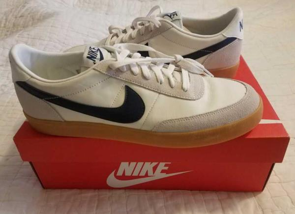 Details about NEW MEN'S ALL SIZES NIKE FOR J CREW KILLSHOT 2 LEATHER SAIL MIDNIGHT GUM SHOES
