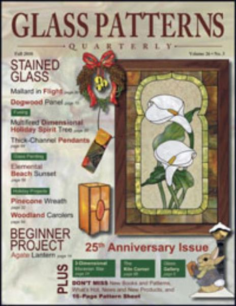 Glass Patterns Quarterly Magazine Fall 40 Stained Glass Fusing Classy Glass Patterns Quarterly