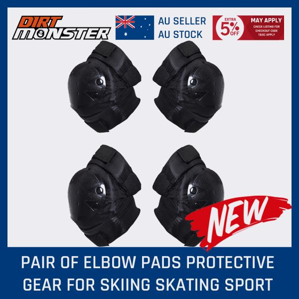 Skating Scooter Safety Elbow Knee Pads Guard Gear Protector Kids Youth Child AU