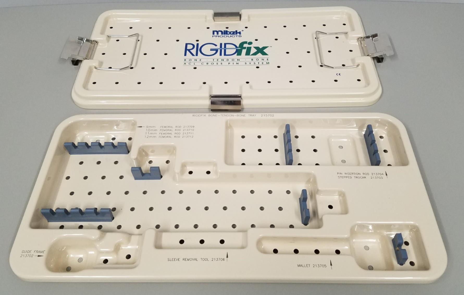 Mitek Rigidfix ACL Sterilization Case Excellent Condition 20