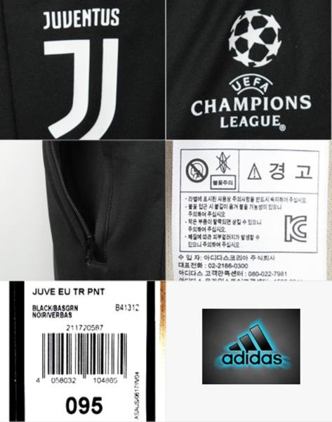 b6e00dcb40e2 Adidas Men Juventus EU Long Pants Training Black UEFA Soccer GYM ...