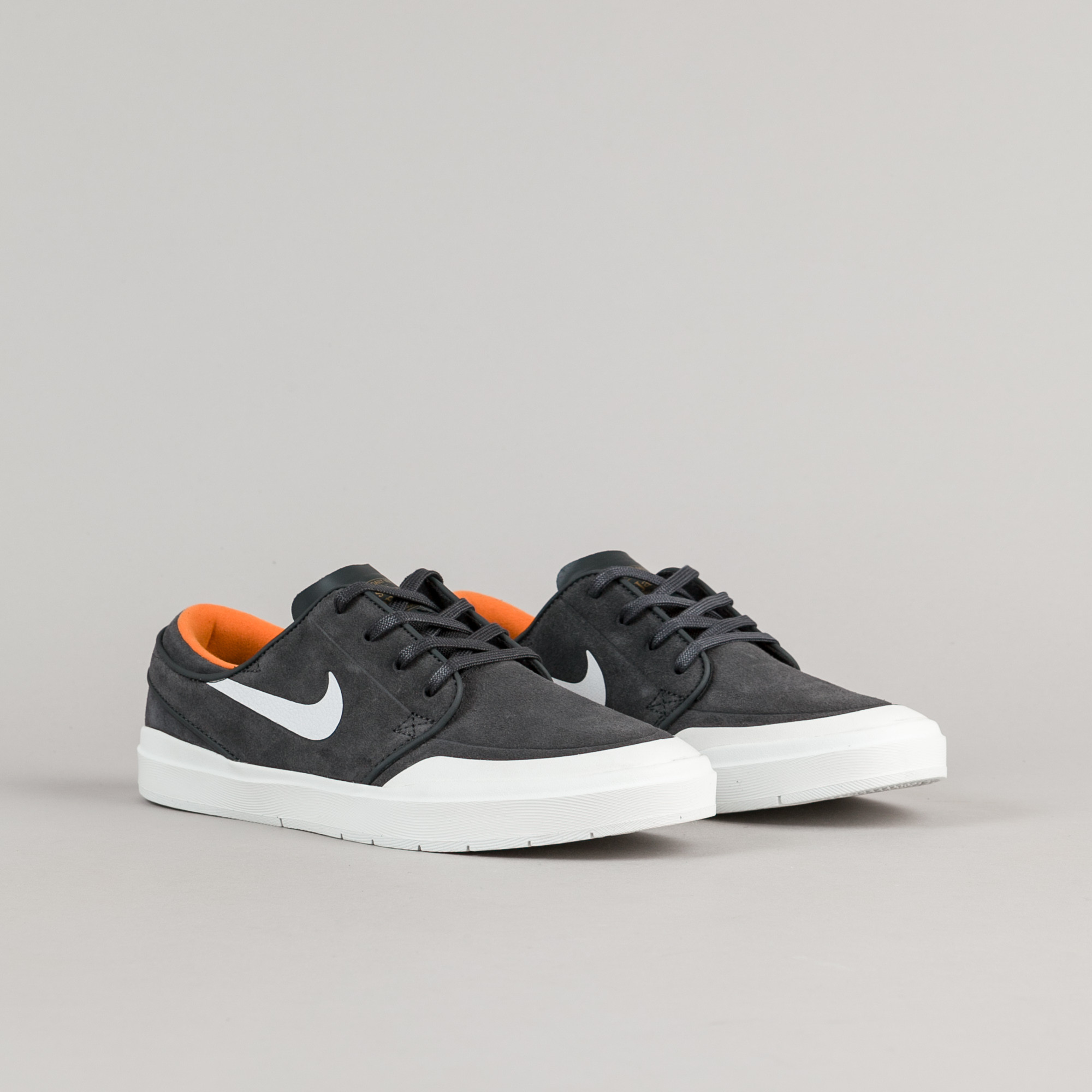 Nike SB Shoes Stefan Janoski Hyperfeel XT Anthracite White Orange Skateboard Sneakers NEW FREE POST