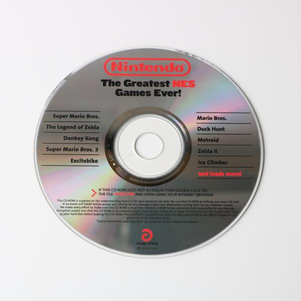 Details about NINTENDO - THE GREATEST NES GAMES EVER - PROMO PROMOTIONAL  PRESS RELEASE DISC