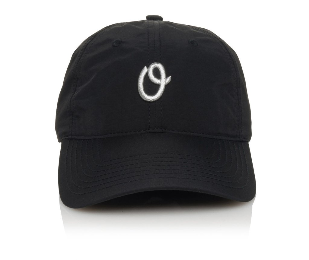 Official Cap Miles Olo Fakie Black 6 Panel Unstructured Strapback Skateboard Hat OSFM CFREE POST New