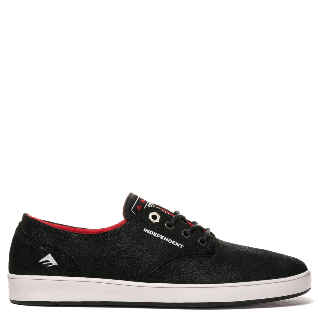 Emerica Shoes Romero Laced x Indy Black Grey Black USA SIZE Skateboard Sneakers FREE POST