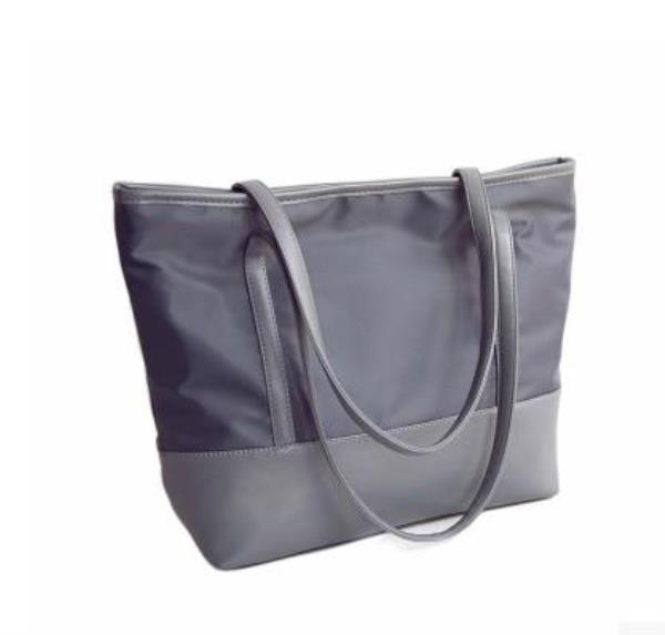 f4a19bc689d1 Details about Women Large Capacity Two Strap Solid Pattern Waterproof  Shoulder Bag
