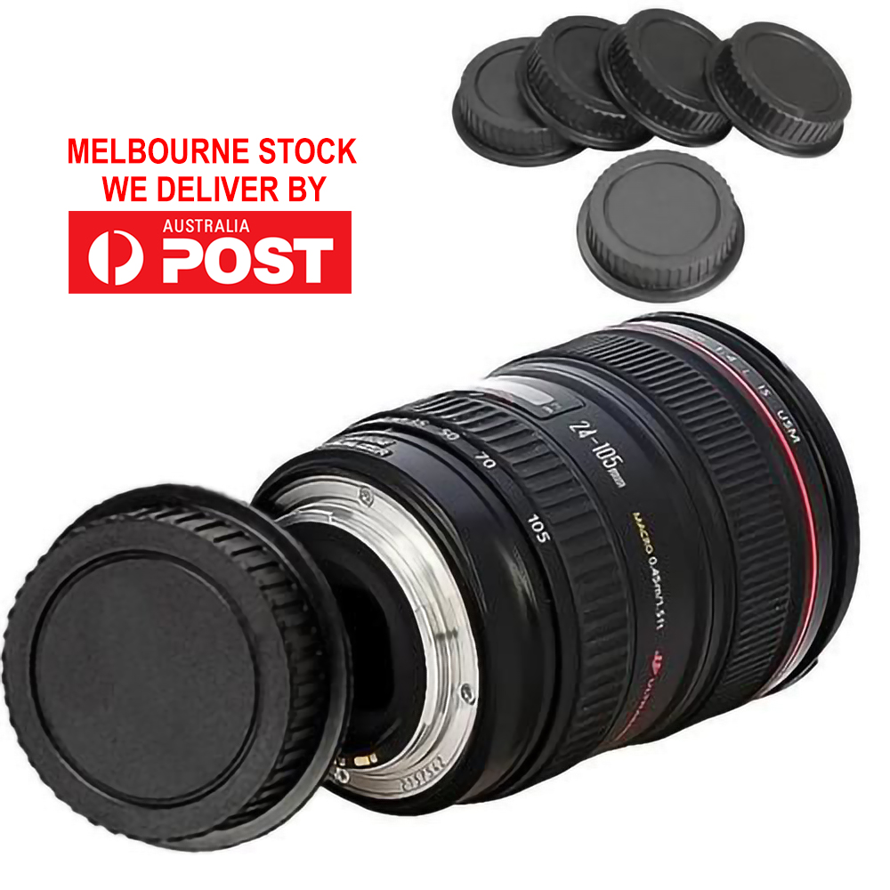 5x Lens Covers Rear Lens Cap Dust-proof Cover EF ES-S Series durable practical
