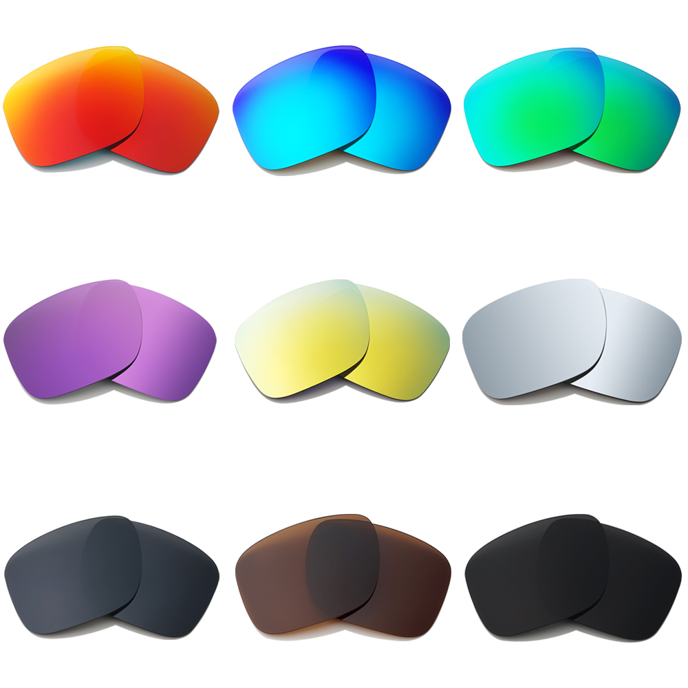 Jade Green&violet Red Sunglasses Polarized Replacement Lenses For Monster Pup Men's Glasses Eyewear Accessories