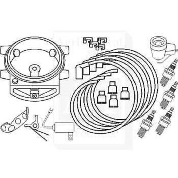Ford 2n 8n 9n Wfront Mount Dist Complete Tune Up Kit 604716786571