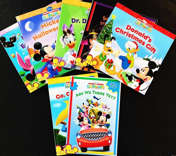 mickey mouse clubhouse lot of 7 disney playhouse go goofychristmasdaisy new - Mickey Mouse Clubhouse Christmas