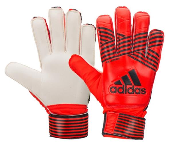 Adidas Goalkeeper Gloves feature an adjustable fit and premium padding to  absorb shot impact. Lightweight c73833a8d