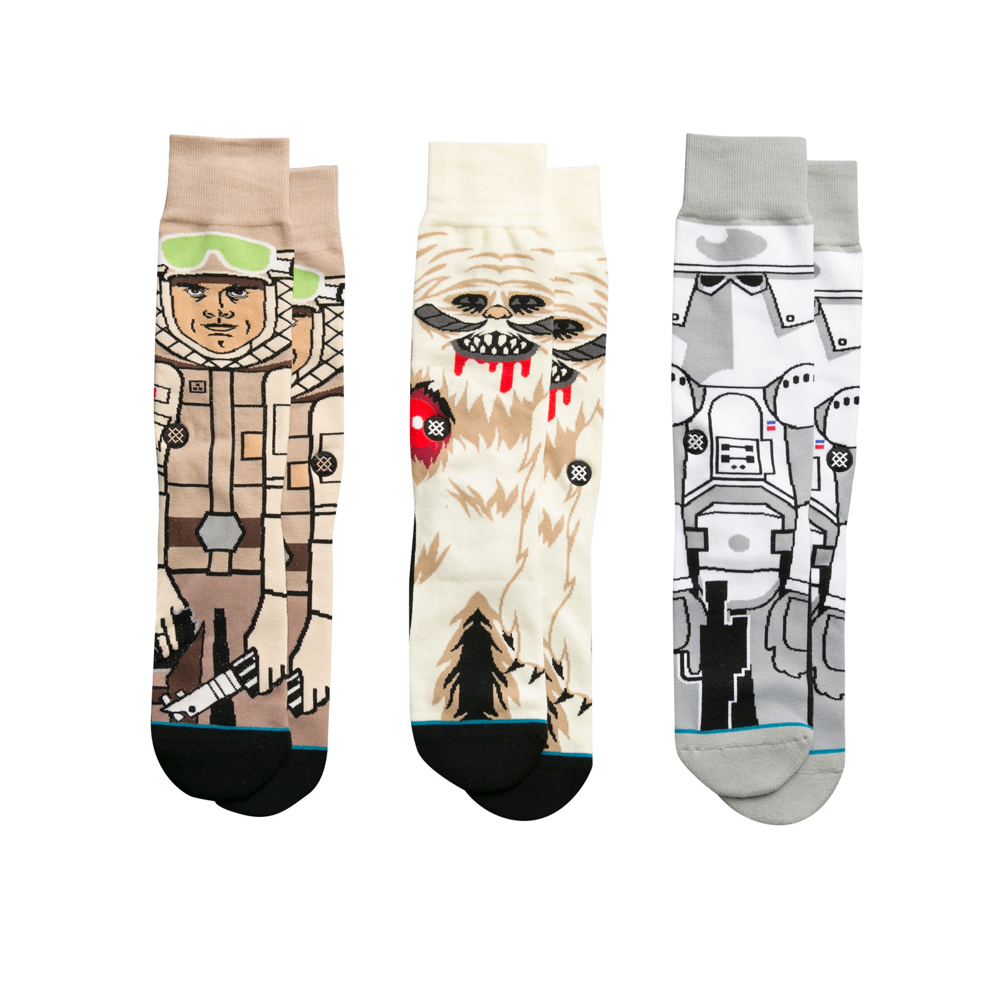 Stance x Star Wars Socks 3 Pack Gift Box Empire Strikes Back SIZE L Movie Sox Set