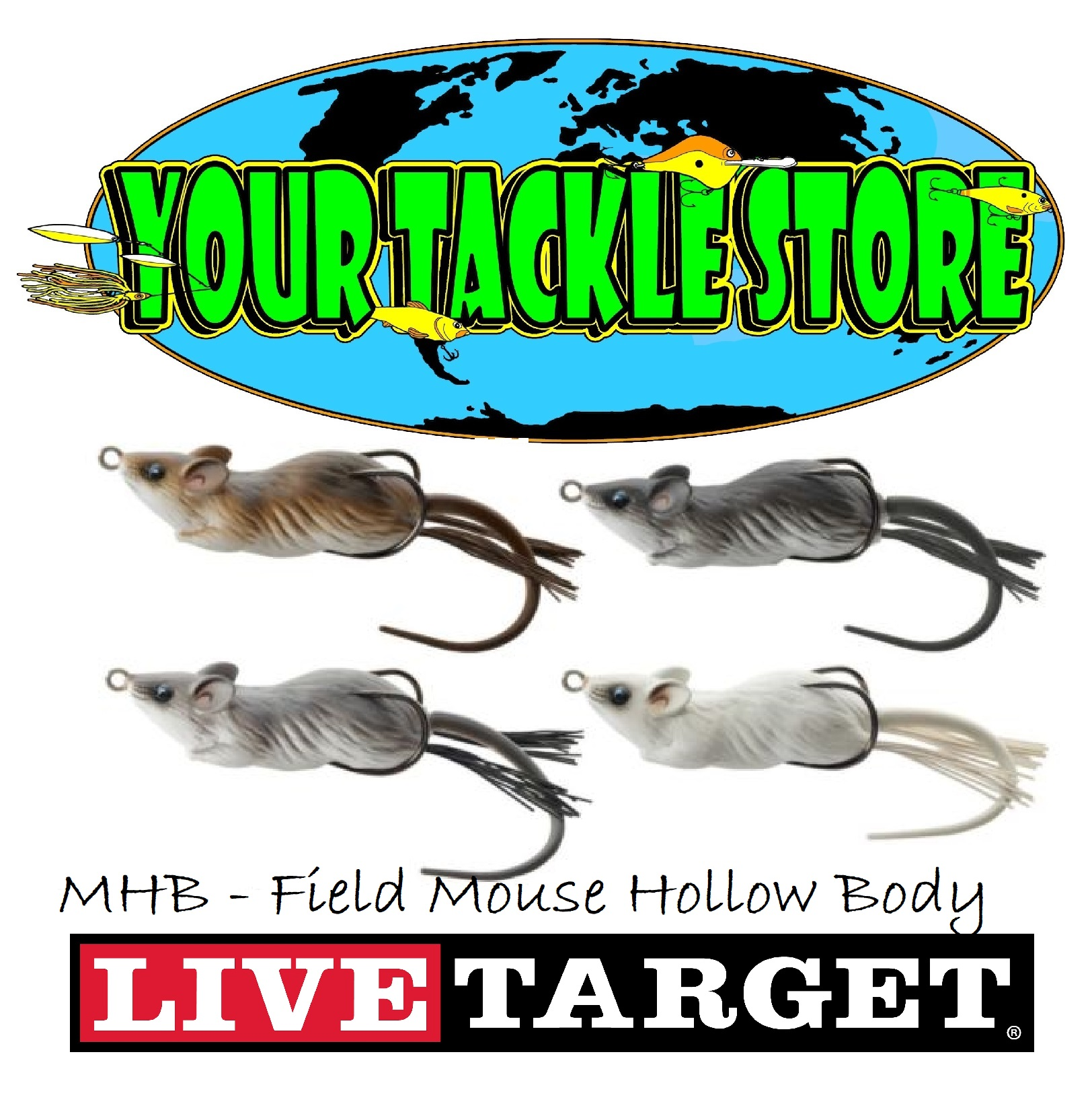 Live Target Hollow Body Mouse