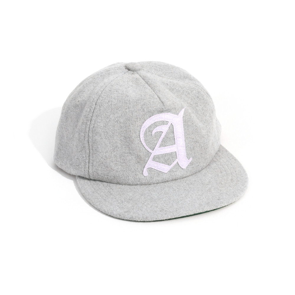 Afends Cap Baroque Unstructured Grey Snapback Skateboard Surf Band Tattoo Hat FREE POST
