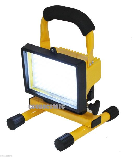12 Watt Rechargeable Portable Led Work Light For Workshop: SUPER BRIGHT 70 LED RECHARGEABLE CORDLESS WORKLIGHT