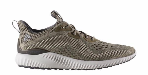 b4938af069231  BW1203  Menss Adidas Alphabounce EM M Running Sneaker - Trace Olive Cargo