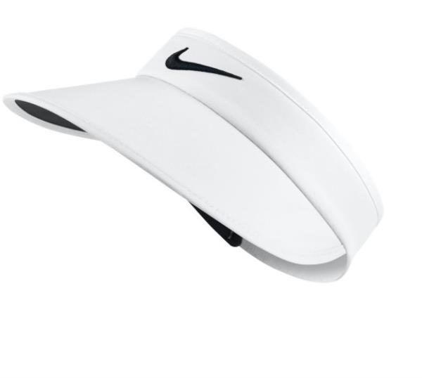 70859d8b Details about New Nike Womens Big Bill Visor Style No 831054  -WHITE/WHITE/BLACK
