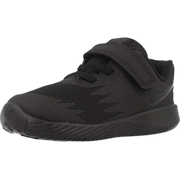 detailed look f6dcf 63966 Details about Nike Star Runner (TDV) Black/Black Toddler Size Running Shoes  907255 005