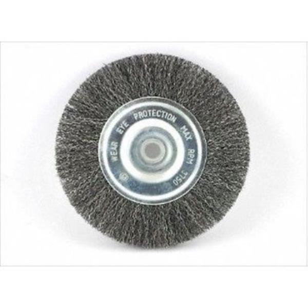 Miraculous Details About Replacement 6 Inch Diameter Round Steel Wire Brush Wheel For Bench Grinder Customarchery Wood Chair Design Ideas Customarcherynet
