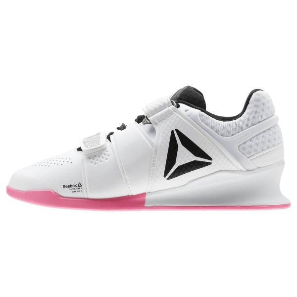 ... Reebok Legacy Lifter Crossfit Weightlifting Shoe. Style  CN4515 Color   White Black Acid Pink Gender  Womens 3e851e3e3