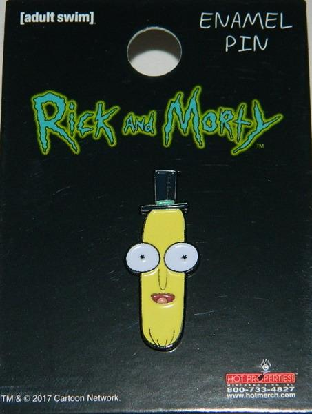 Poopybutthole Head Metal Enamel Pin UNUSED Rick and Morty Animated TV Series Mr
