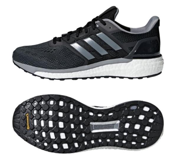 Mens Adidas Supernova Running Shoes Black Sneakers New