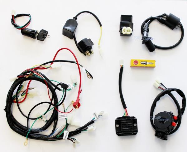 buggy wiring harness loom gy6 150cc chinese electric start kandi go buggy wiring harness loom gy6 150cc chinese electric start kandi go kart dazon