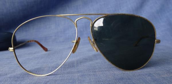8dd4c3cfca ... usa very old vintage ray ban aviator sunglasses bausch lomb bl 7f084  2abc0