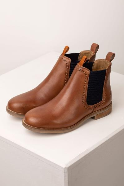 brown ankle chelsea boots womens