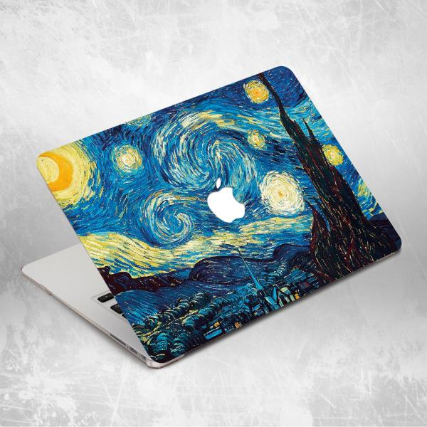 huge selection of 21741 a5dda Details about Starry Night Art Van Gogh Oil Paint Hard Case For Macbook Pro  12 13 15 Air 11 13