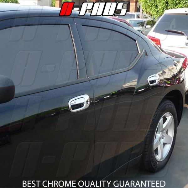 For 06 07 08 09 10 Dodge Charger Chrome Handle 4 doors covers Caps