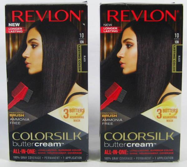 2 Revlon Colorsilk Buttercream All In One Permanent Hair Color Kit