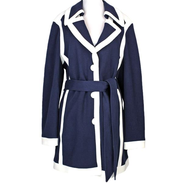 fresh styles search for authentic browse latest collections Details about NEW INC International Concepts Lightweight Coat Peacoat, Navy  Blue White, XL