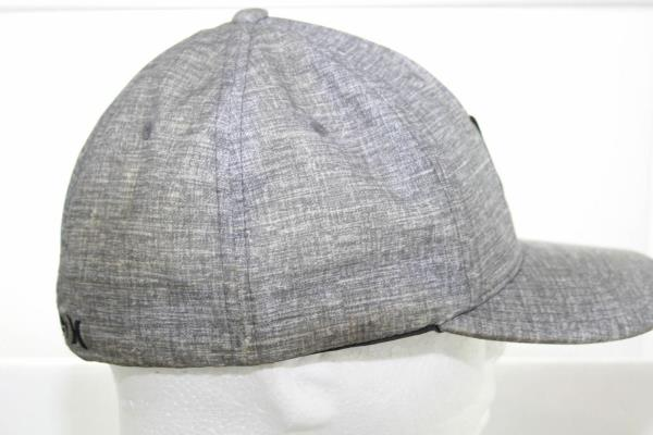 Nike Dri-Fit Hurley Phantom Baseball Hat Gray Flex Fitted Cap Size ... 00062e259a7