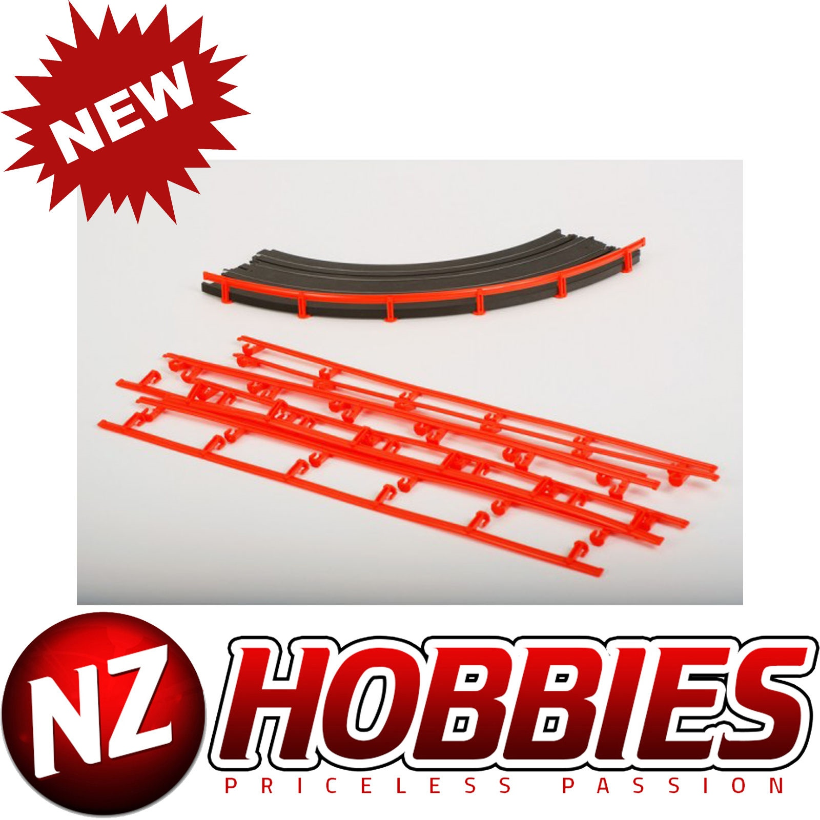 HO Scale 8627 AFX HO Slot Car 15-Inch Terminal Track Section