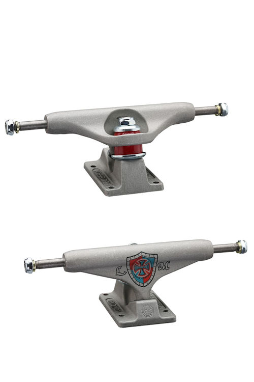 Indy Skateboard Trucks Lance Mountain 139 Hollow Raw Pewter Independent Standard FREE POST