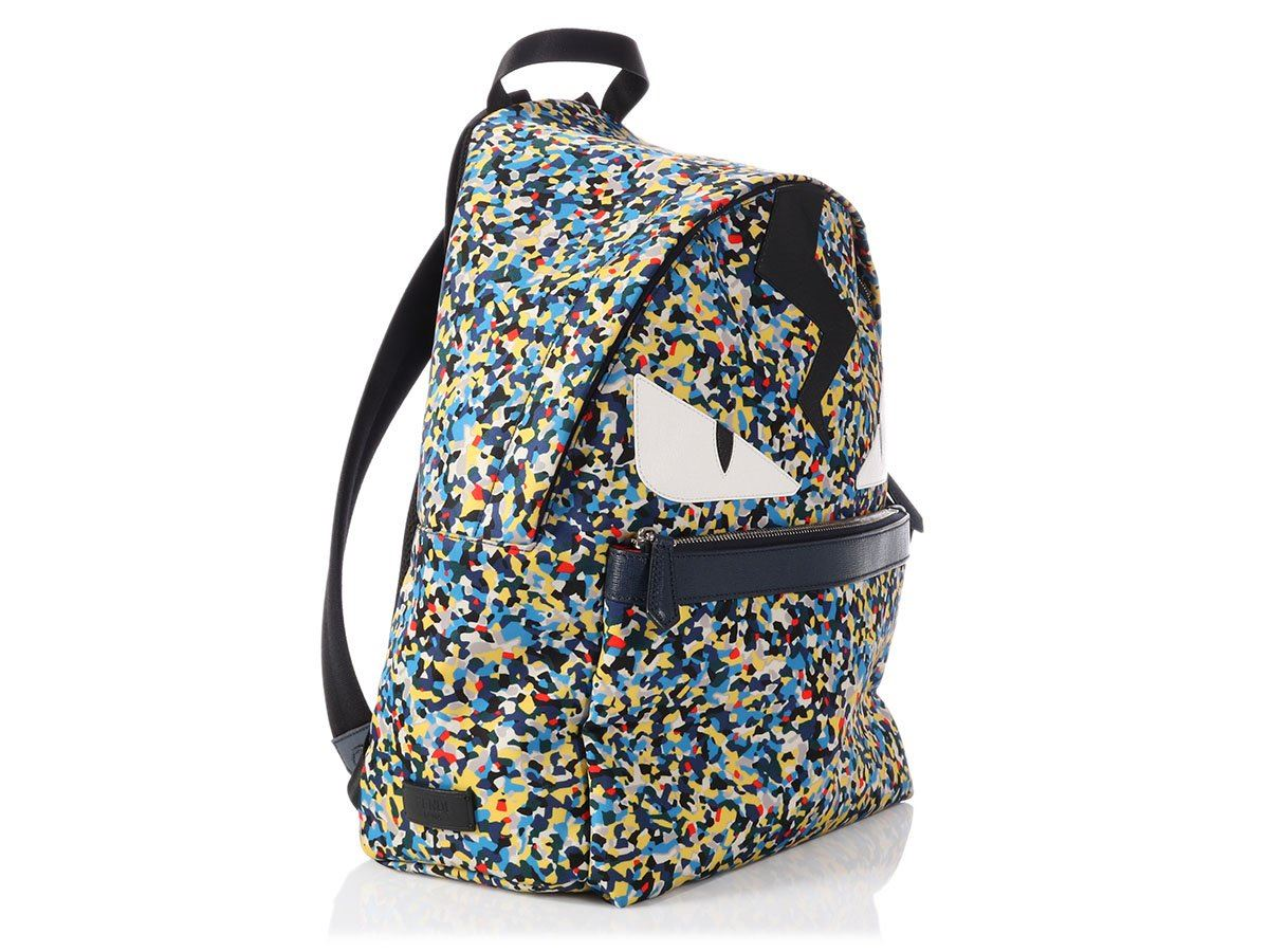 0c0d6661d38a FENDI Confetti Monster Backpack ~ A comfortable creature for your back!