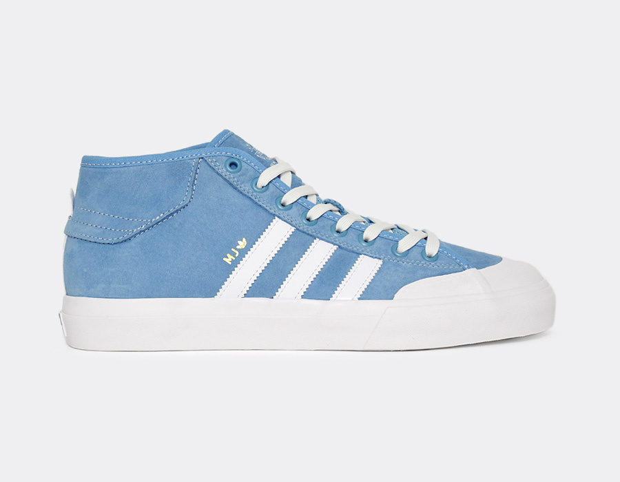Adidas Shoes MatchCourt Mid MJ Blue Wht Gold USA Skateboard Sneakers Originals FREE POST