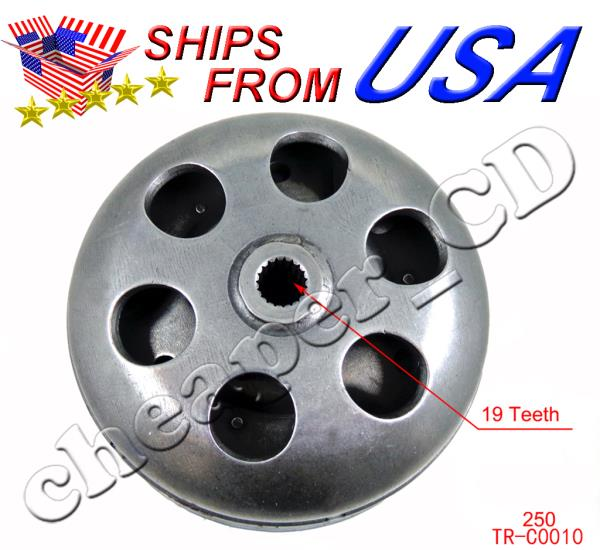 Complete Clutch Bell Assembly Assy GY6 150cc Clutch Moped Go Kart ATV Dune Buggy