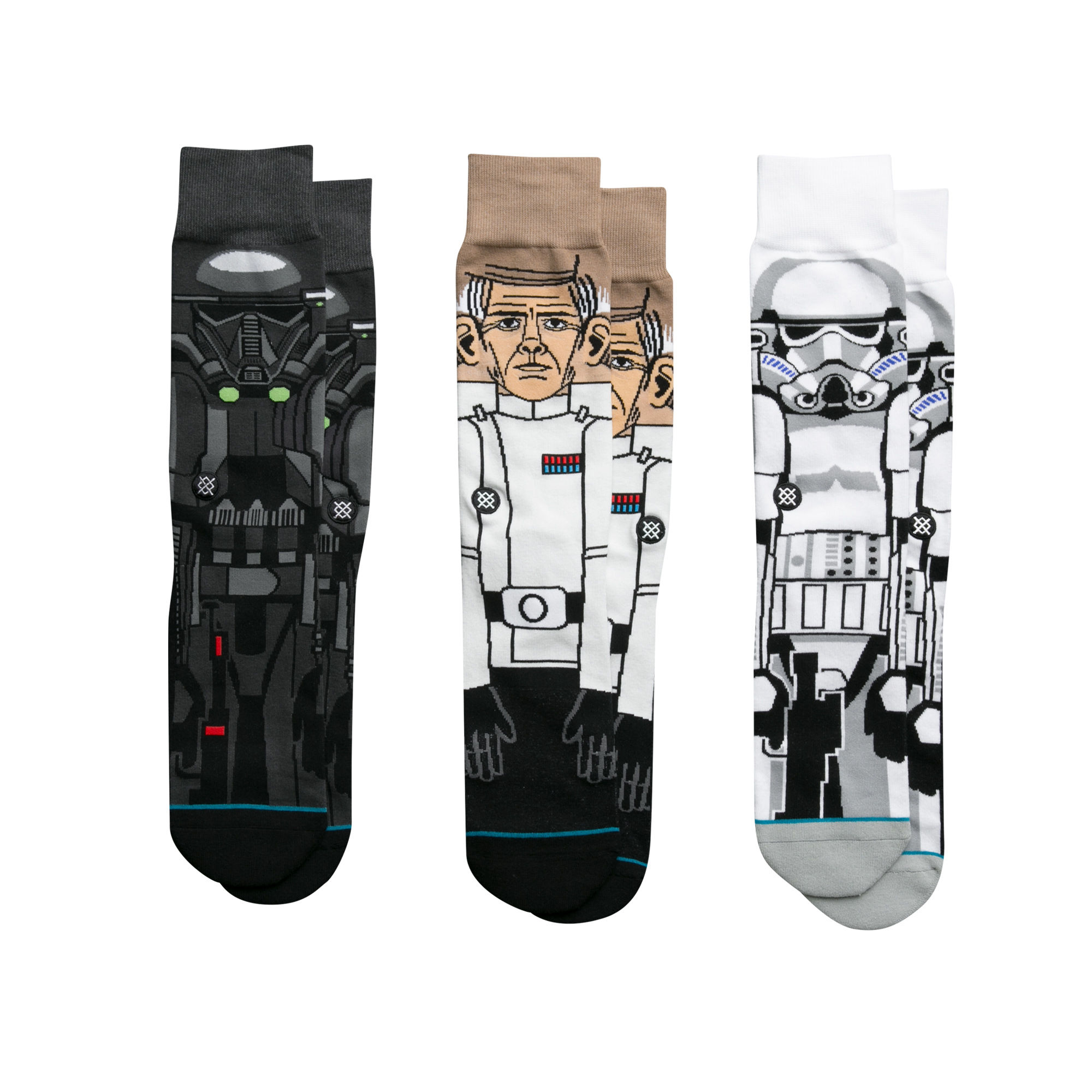 Stance x Star Wars Socks 3 Pack Gift Box Rogue One SIZE L Movie Sox Set