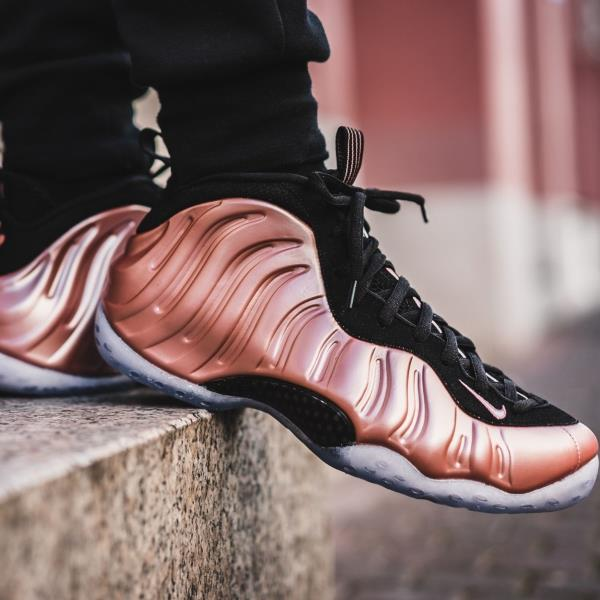 Nike Air Foamposite One Sneakers Rust Pink Size 7 8 9 10 11 12 Mens Shoes  New e437479a7481
