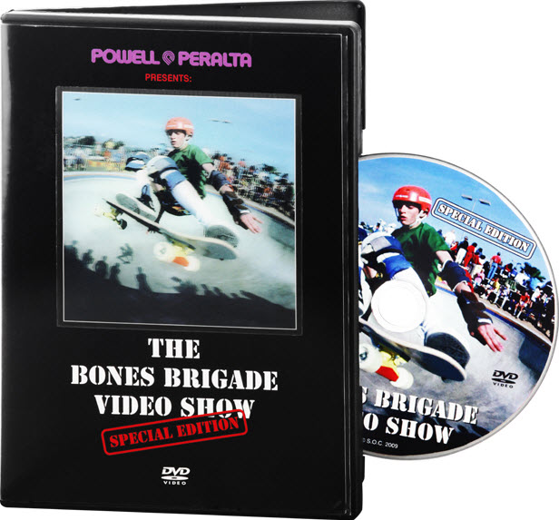 Powell Peralta DVD Bones Brigade Video Show Special Edition with extras free post