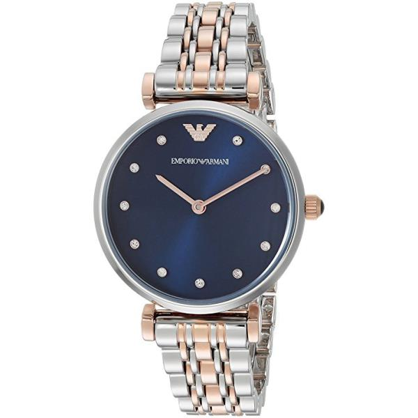 9fe775456a Details about 100% New Emporio Armani AR11092 Rose Gold Tone and Stainless  Steel Women's Watch
