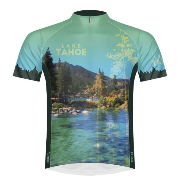 Primal Wear Arches National Park Moab Full Zip Short Sleeve Sport Cycling Jersey