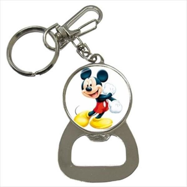 Brand New Mickey Mouse Bottle Opener Keychain. Keep it close and handy for  popping open those bottle meanwhile keeping all your keys together. c47913123843