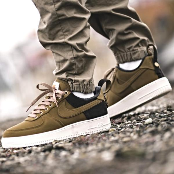 e6fdbbe39c Details about Nike Air Force 1 Low X Carhartt WIP Brown Size 7 8 9 10 11 12  Men AV4113-200