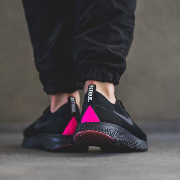 best service fefa3 82009 Nike Epic React Flyknit Betrue Sneakers Black Size 8 9 10 11 12 Mens Shoes  New. 100% AUTHENTIC OR MONEY BACK GUARANTEED