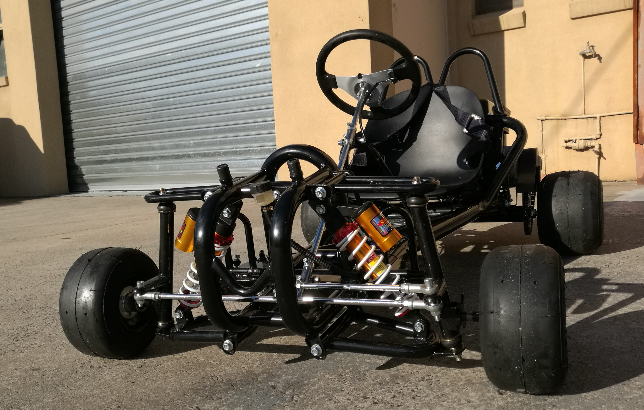 2018 Go Kart Drift Kart 6 5hp 196cc Buggy Quad Atv 4