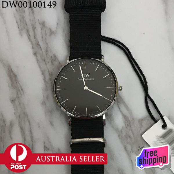 bbe7d28c0 Details about New In Box Daniel Wellington DW00100149 Classic Black  Cornwall 40mm Men's Watch
