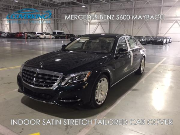 Details About Mercedes Benz S600 Maybach Indoor Satin Stretch Custom Car Cover From Coverking